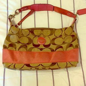 Used Cloth Coach Bag